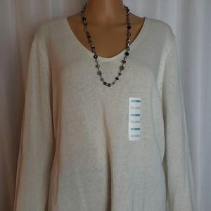 NWT/OLD NAVY V-Neck Sweater Size XL -z